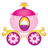 Vector Princess carriage, Vector Cinderella Carriage