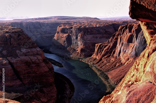 The horseshoe bend in Arizona