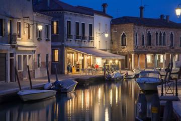 Abendstimmung in Murano, Italien