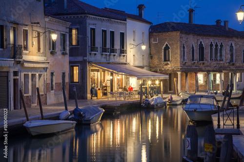 Foto op Canvas Venetie Abendstimmung in Murano, Italien