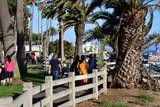 Santa Monica, California, USA - july 15 2016 : picturesque city in summer