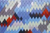 Bunte Fassadenfliesen - 180041457