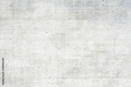 Texture of old white concrete wall for background - 180052293