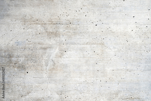 Texture of old white concrete wall for background - 180052627