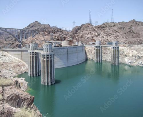Plexiglas Pier around Hoover Dam