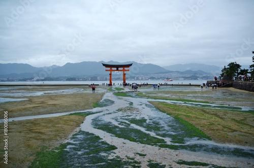 Wall mural 世界遺産の厳島神社