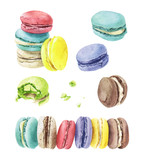 Different types of macaroons - 180101648