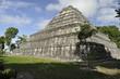 Pyramid of Chacchoben Mayan Ruins, Mexico