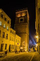 Ząbkowice Śląskie, krzywa wieża