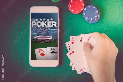 poker online плакат