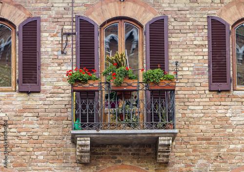 Deurstickers Toscane San Gimignano, Italy