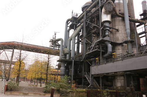 Aluminium Amusementspark Alte Industrieanlage im Landschaftspark Duisburg-Nord