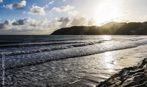 Fotobehang Grijze traf. Praia de Ponta Negra - Natal/RN - Brazil