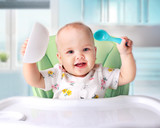 Baby eating,child's nutrition. - 180158877