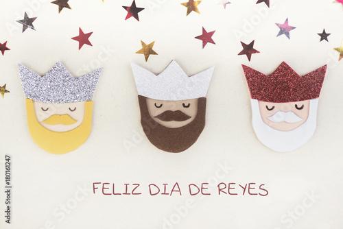 Foto Murales feliz día de reyes
