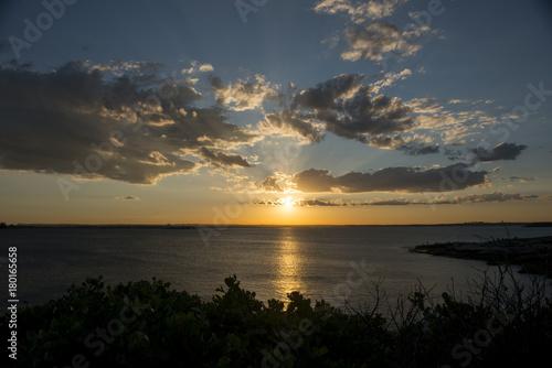 Fotobehang Sydney Beautiful sunset from La perouse in Sydney