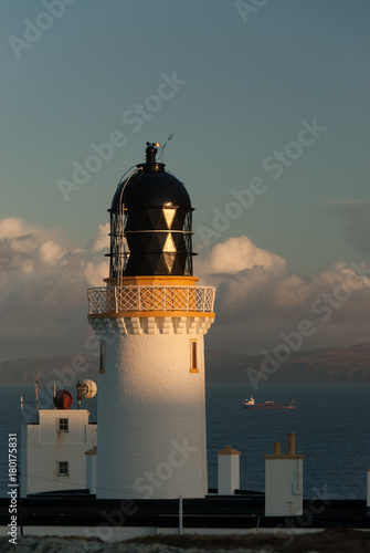 Zdjęcie XXL Dunnet Head Lighthouse at Dawn