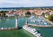 Leinwanddruck Bild - Lindau am Bodensee