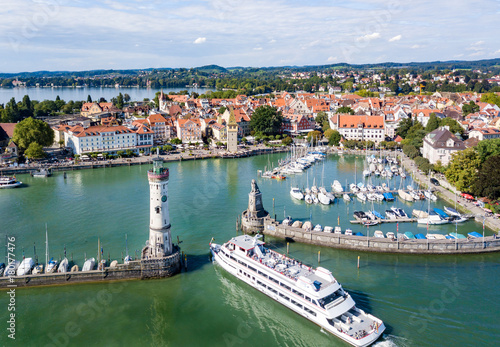 Leinwanddruck Bild Lindau am Bodensee
