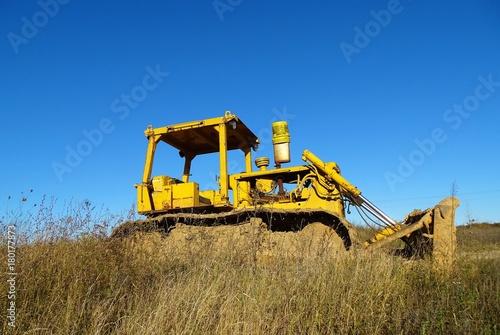 Aluminium Trekker Yellow Bulldozer