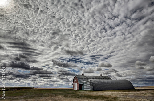 Fotobehang Donkergrijs Saskatchewan Canada Landscape