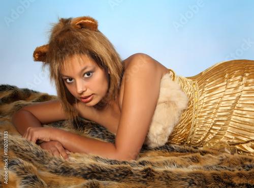 Lion woman Poster