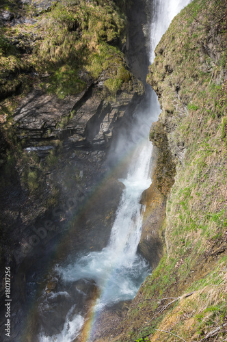 Waterfall in french Alps - 180217256