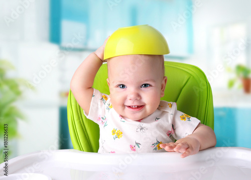 Child meal.Baby eating.Kid's nutrition. - 180226633