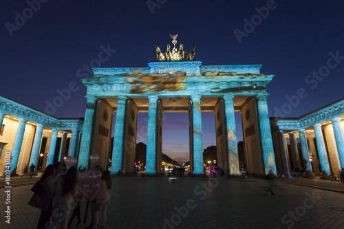 Aluminium Berlijn Festival of lights