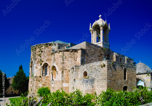 The Crusades-era Church of St. John-Mark in Byblos, Lebanon Photo by homocosmicos