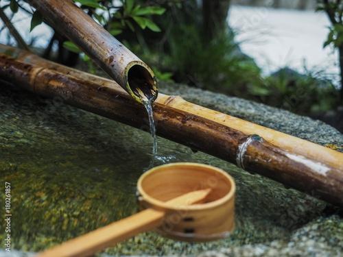 Fotobehang Zen Zen Wasser Plätschern Meditation Entspannung