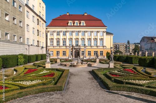 fototapeta na ścianę Garden of the City Museum of Wrocław.