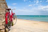 Plage de Bretagne et vélo