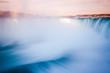 Long exposure of Niagara falls during the sunset