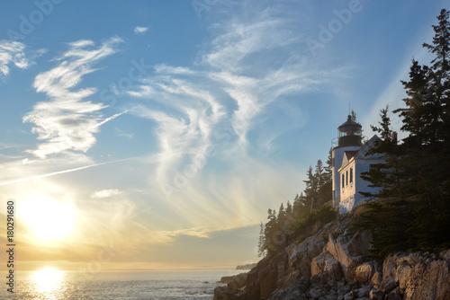 Papiers peints Beige Bass Harbor Lighthouse