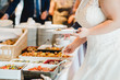 catering wedding buffet for events  - 180294256