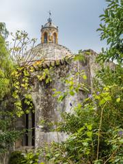 In the Garden of San Francisco Church in Tavira, Portugal
