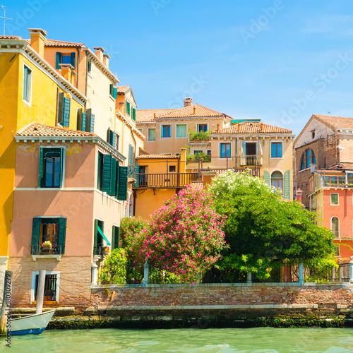 Foto op Plexiglas Venetie houses in Venice