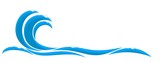 Blue wave. - 180318675