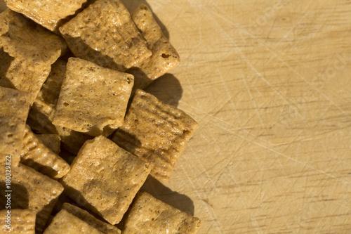 Papiers peints Texture de bois de chauffage Cereals