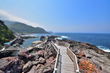 神津島の赤崎遊歩道
