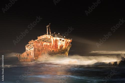 Keuken foto achterwand Schipbreuk Schiffswrack am Kap Agulhas