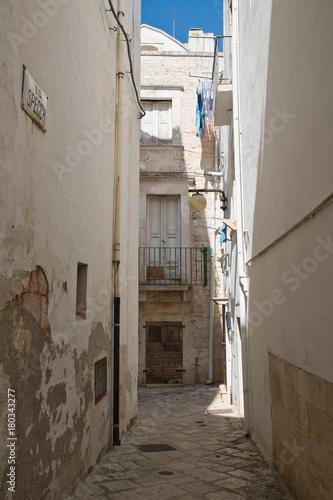 Alleyway. Putignano. Puglia. Italy.