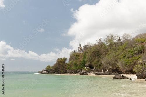 Fotobehang Donkergrijs Wybrzeże Bali