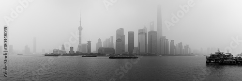 Foto op Plexiglas Shanghai Shanghai Pano