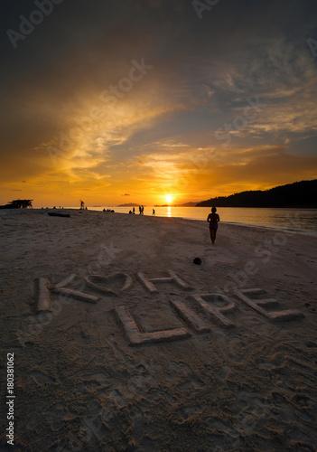 Aluminium Strand Sunsets, Koh Lipe Island