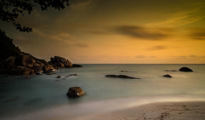 Sunrise in the tropical island - Ko Samui