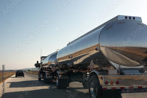 fototapeta na ścianę United States interstate trucking industry