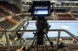 TV camera for broadcast Handball. - 180391083