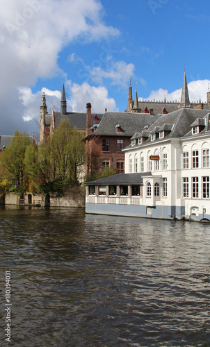 Poster Brugge Dijver canal
